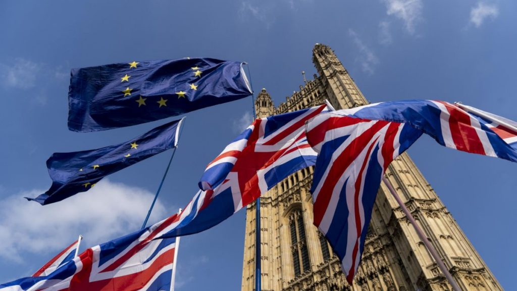 Inggris dan UE