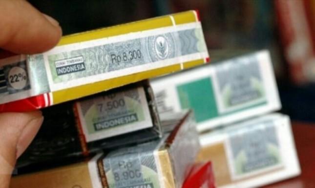 asing rokok cukai