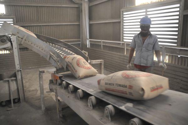 saham semen konstruksi