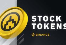 binance stock tokens
